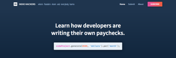 Stripe buys entrepreneur knowledge website Indie Hackers