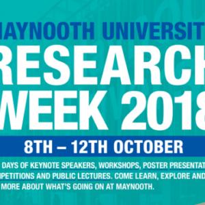 Research Week at Maynooth University Kicks Off Today