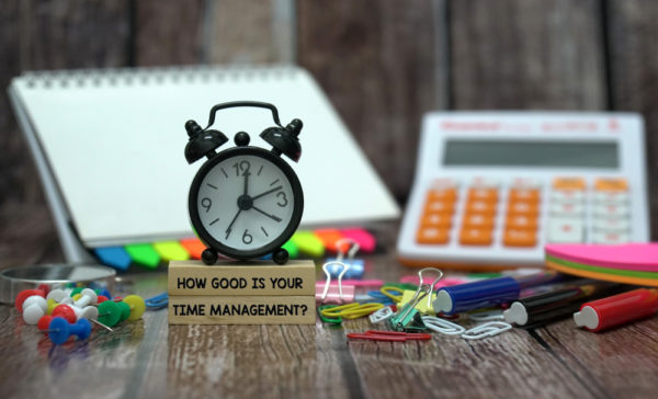 Keeping Time: the importance of budgeting for time management