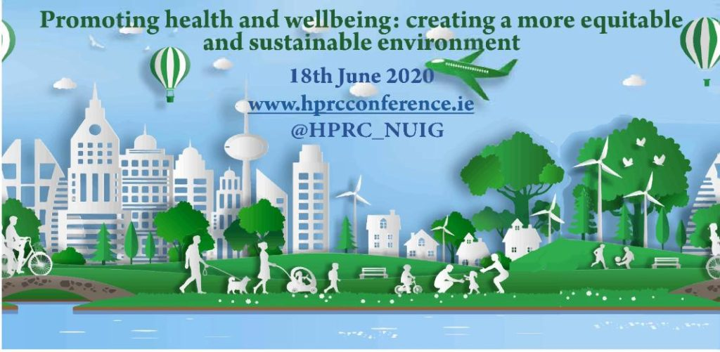Health Promotion Conference at NUIG Moved Online