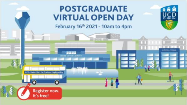 UCD Clinical Research Centre Virtual Open Day